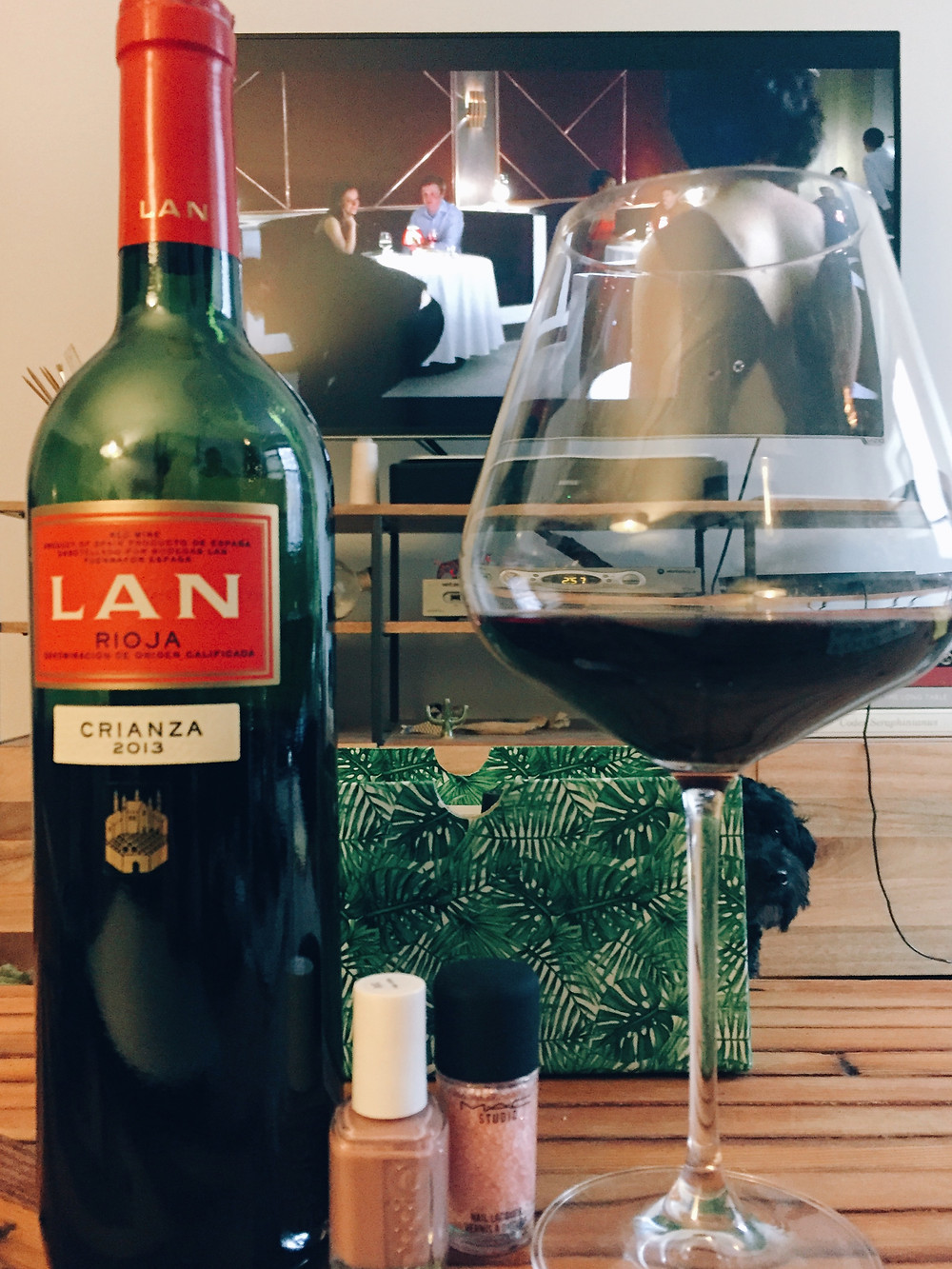 Rioja, Netflix, and a manicure