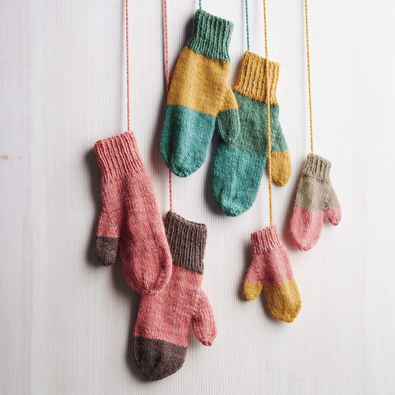 Martha Stewart mitten knitting pattern