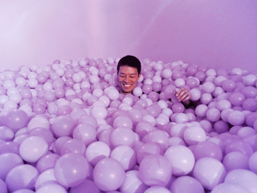 baby's first ball pit!