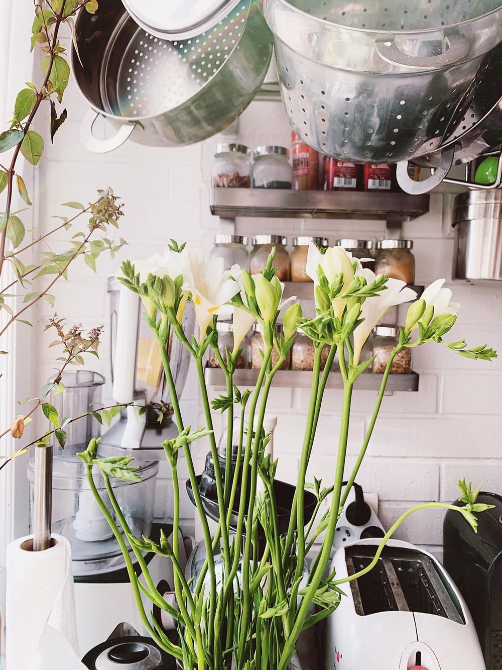 Bouquet of freesias