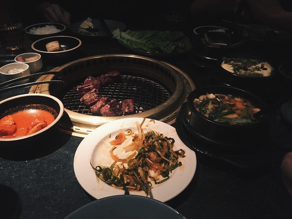 my birthday dinner at Cote