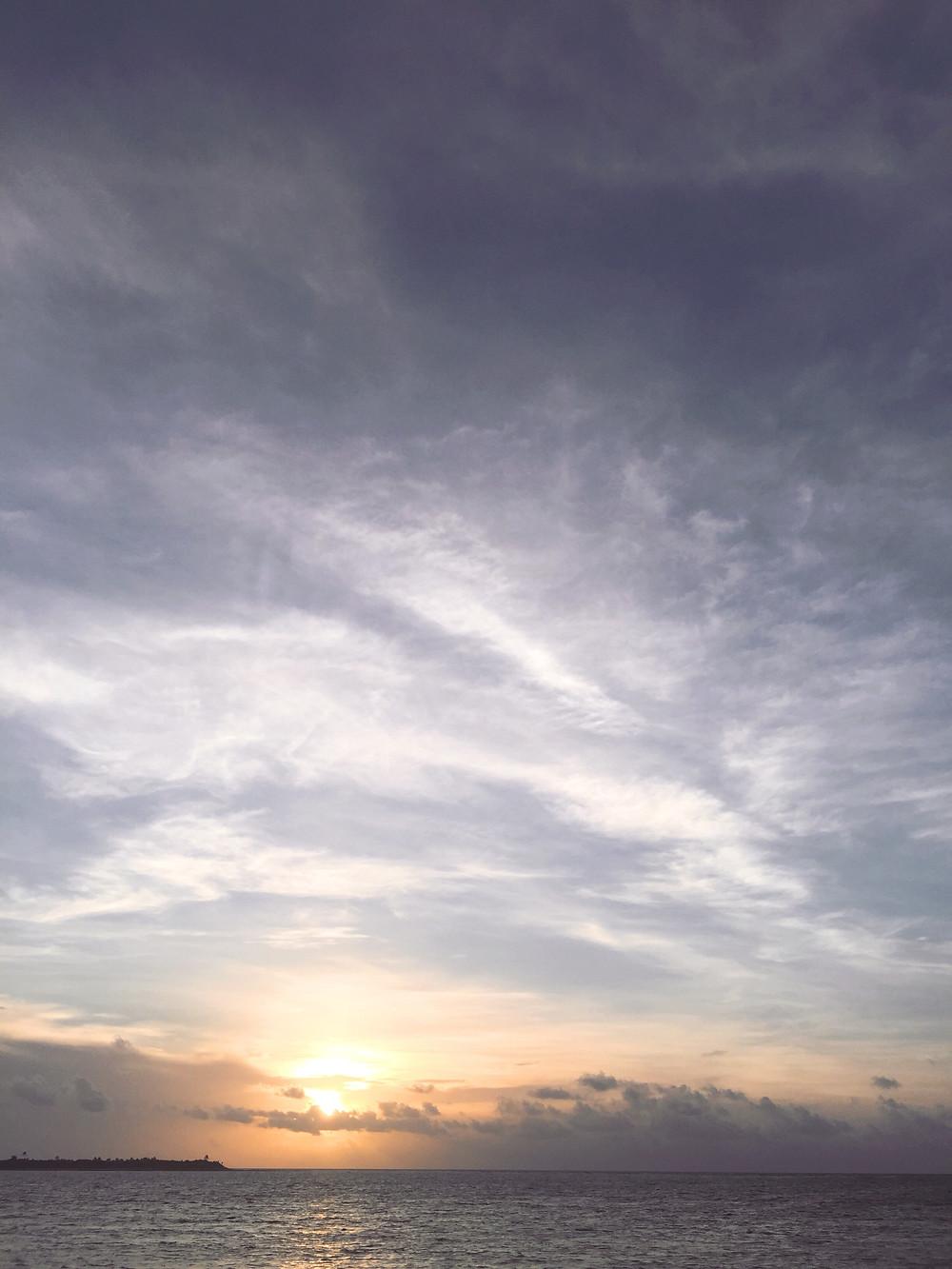 a new sunrise in 2018; Tulum, Mexico