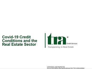 TRA Covid-19 Impact on Tenant Credit