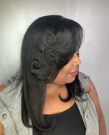 Full head sew in done by clay!! #vipsalo