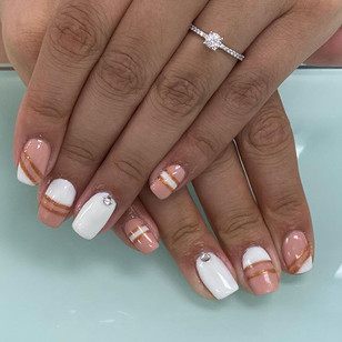 Gel Manicure $30 with design!_Book Today