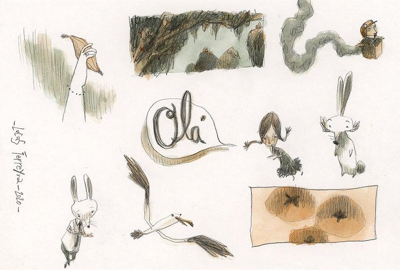 Feijoada de desenhos 03