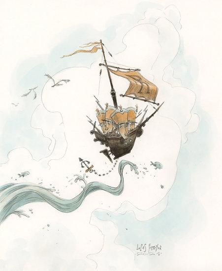 Navegando pelos ares!