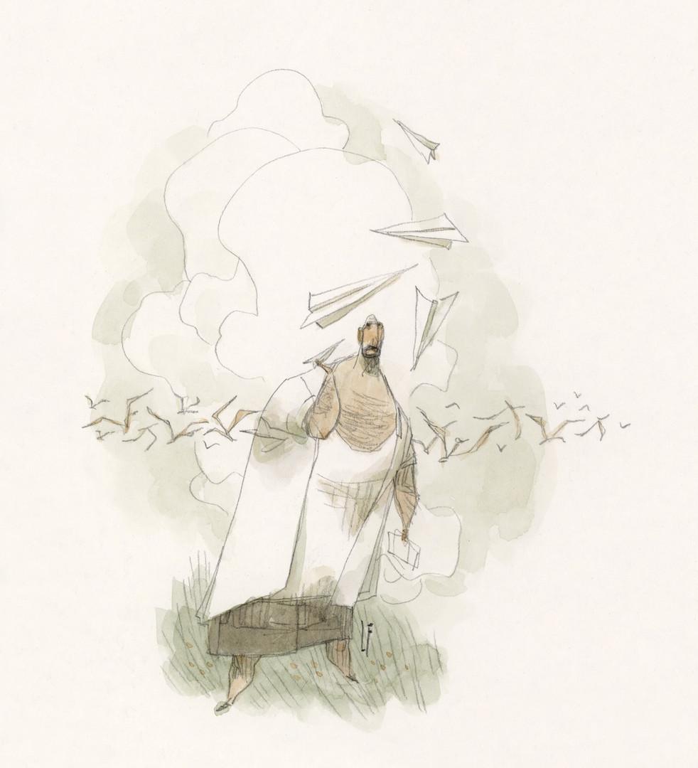 Sol com Bigode - Lucas Ferreyra 08 2020