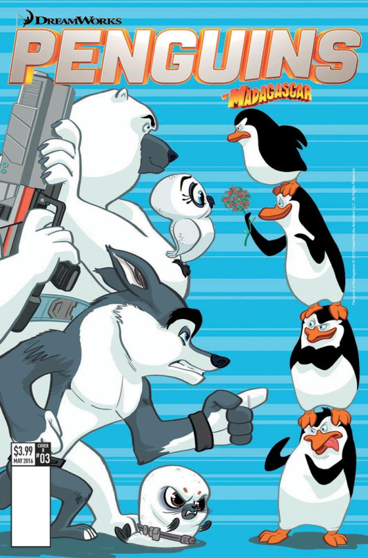 Penguins Cover - Lucas Ferreyra