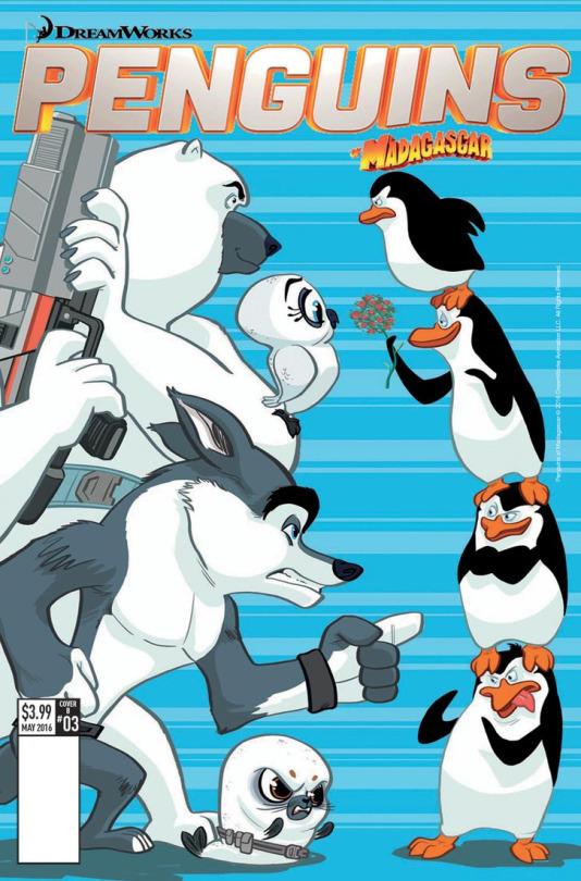Penguins Cover - Lucas Ferreyra