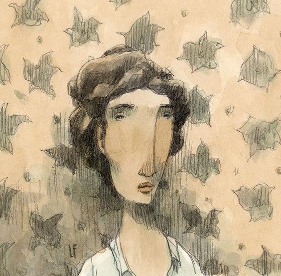 Retrato imaginário em Re menor.
