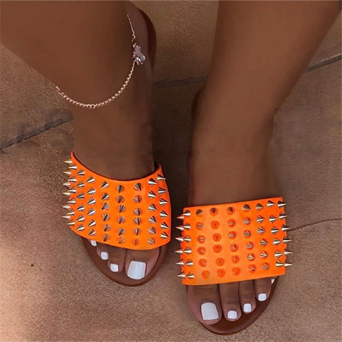 Orange spike slides