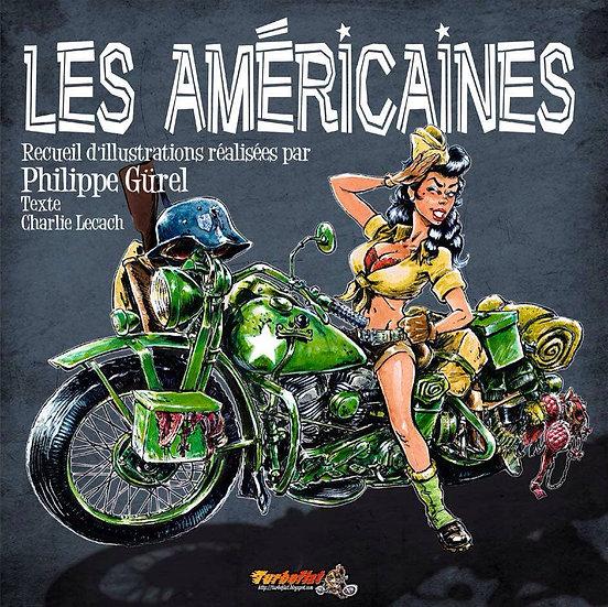 Les Américaines - livre d'illustrations