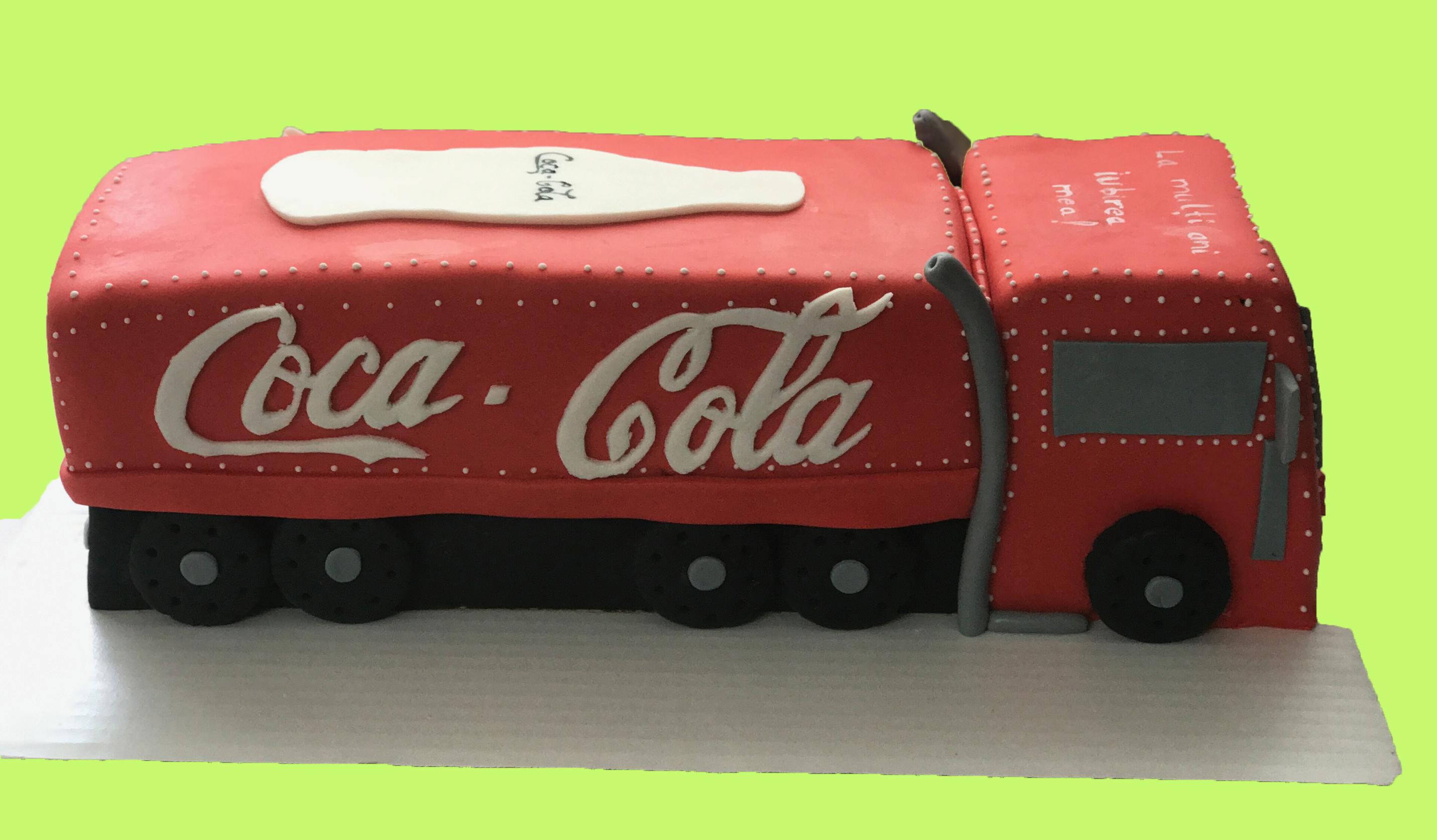 Coca- Cola cake