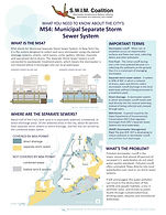 Factsheet: Municipal Separate Storm Sewer (MS4s)