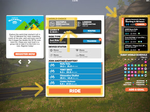 How to Access Zwift Coach-Lead Workout Session