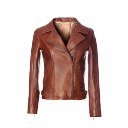 Perfecto cuir marron
