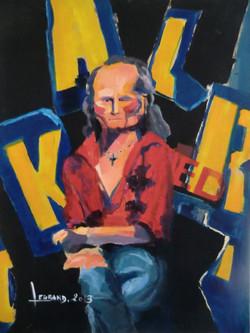 Portrait Affiche, Le Gitan