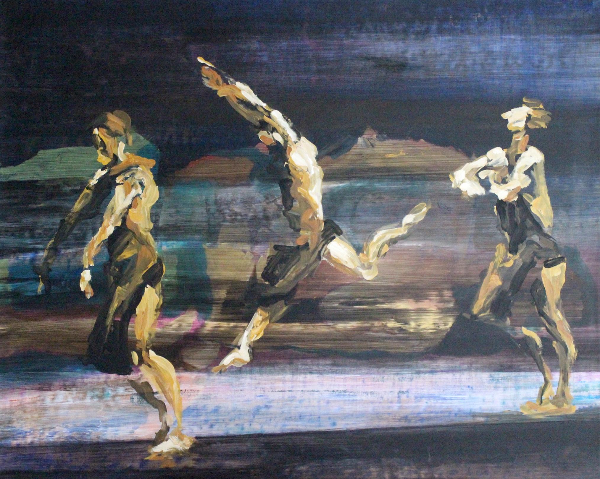 le saut des danseurs