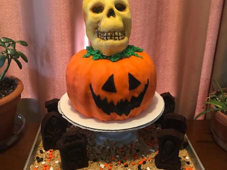 Sculpted Birthday Cake