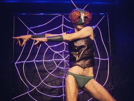 Human-sized Spider Web