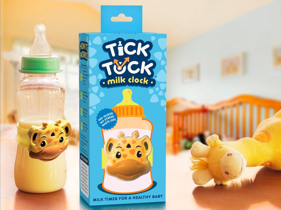 TickTock Milk Clock New Package