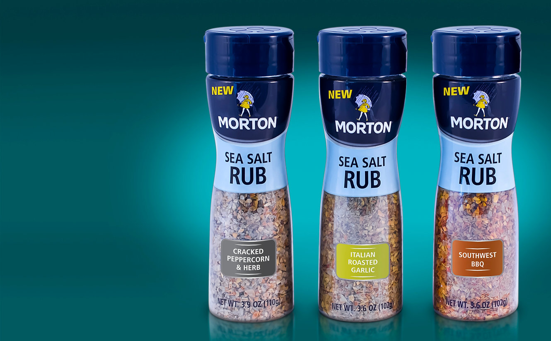 Morton packaging design