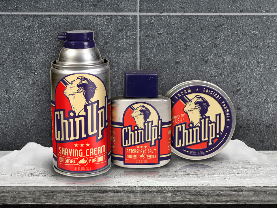 ChinUp Mens Grooming Products_Concept