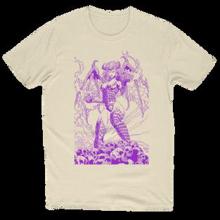 Beautiful Nightmare Artwork T-Shirt Creme