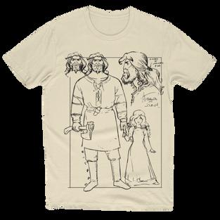 Anthalos Character Design T-Shirt Creme