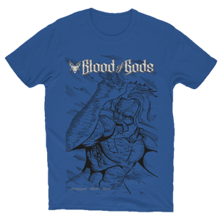 Anthalos Under Fire Cover T-Shirt Blue