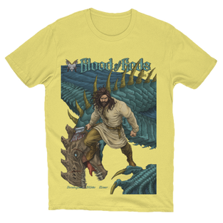Anthalos the Slayer Cover T-Shirt Yellow