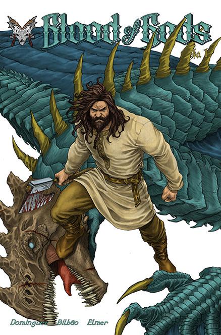 Blood of Gods Issue 1 Anthalos the Slaye