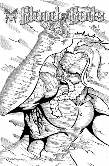 Blood of Gods Issue 1 Anthalos Under Fir