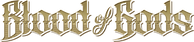 Blood of Gods Gold Title Logo