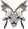 Blood of Gods Skull and Axe Logo