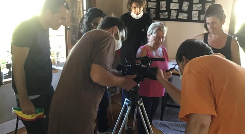 Atelier vidéo: devant et derrière la caméra