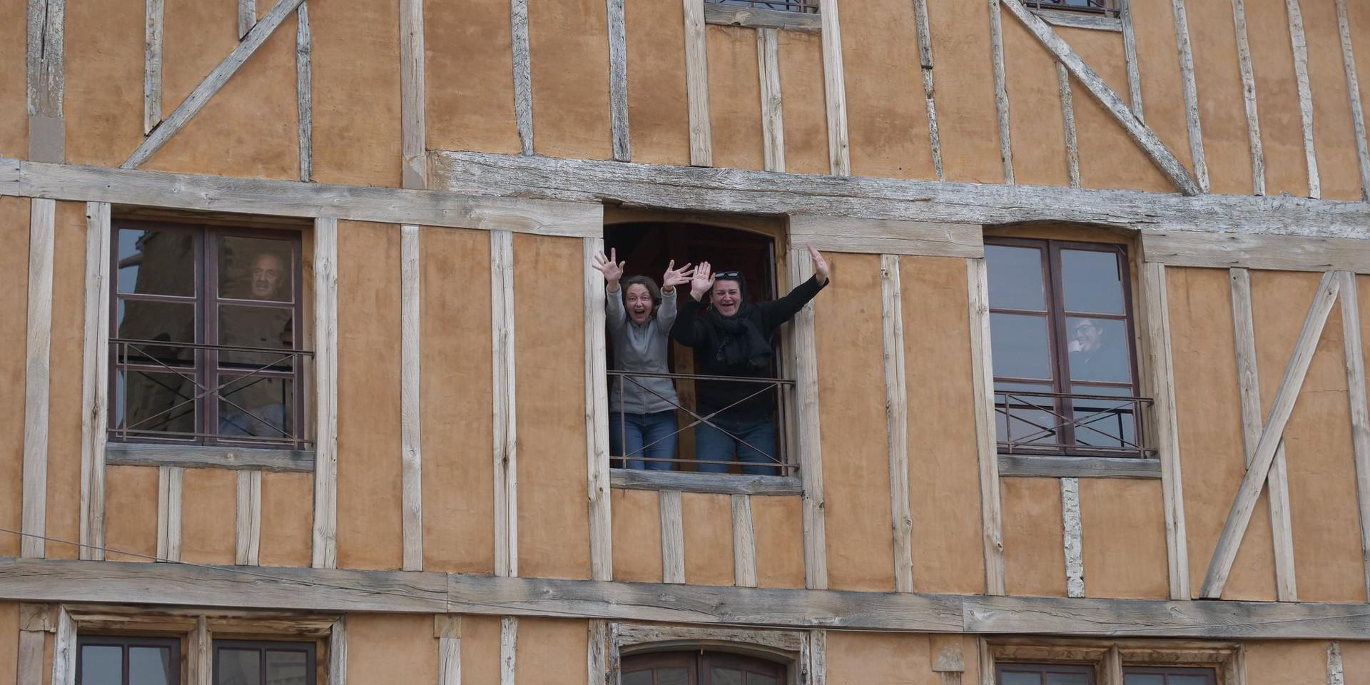 A la fenêtre du GEM !