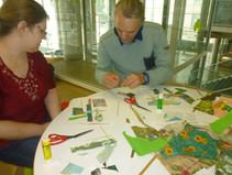 Atelier créatif au Carré d'Art de Nîmes
