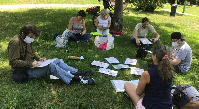 Atelier d'écriture les pieds dans l'herbe !