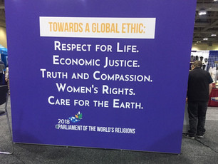 Global Ethic- Grassroots Hope (A Star Trek Reality at Interfaith Convention)