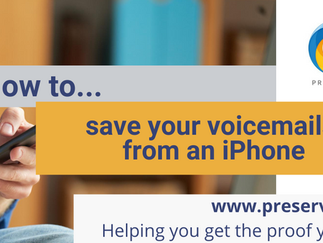 How to save voicemails from your iPhone