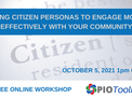 Why citizen personas will help you create the best engagement as a PIO