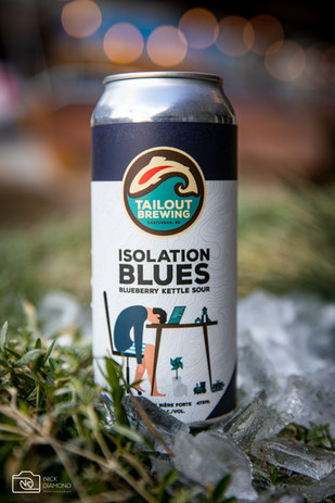 Isolation Blues Sour - Tailout Brewing