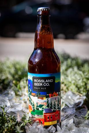Rossland Brewery Tall Bottles
