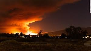 Santa Barbara - Montecito blaze