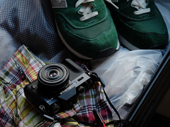 ♪縦の糸はカメラ、横の糸はシューズ