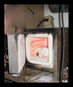Burning the wax