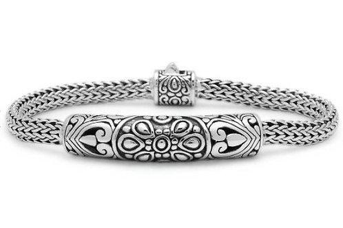 The Floret - Unique Handmade Sterling Silver Bracelet