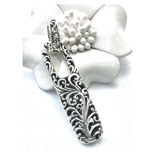 The zestful - Handmade Sterling Silver Pendant